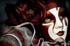 mascaras rojas