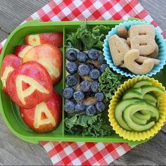 ABC Bento Box -- School Lunch Idea