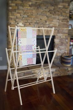 """Pioneer"" Clothes Drying Rack - Homestead Drying Racks - Homestead Store"
