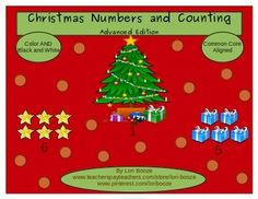 Christmas Numbers and Counting Advanced Edition***Common C