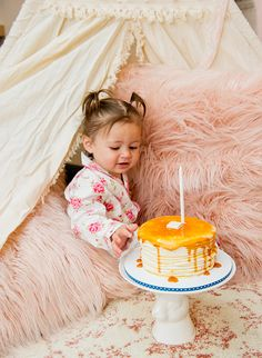 'Breakfast in Bed' First Birthday Party - Inspired By This