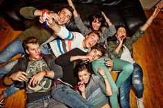 These were some of the coolest people I've ever met. Will always treasure the cast of the AEO spring campaign. #aeo #aeostyle #aeospring2014