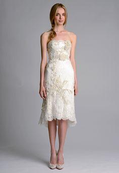 wedding dressses, fashion, bridal collection, rehearsal dinners, short stories, weddings, dresses, marchesa, fall 2014