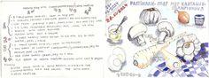 Parsnip Soup with Champignons/eggs/crème fraIche<span class='title_artist'> by Dorine van der Vloodt</span>