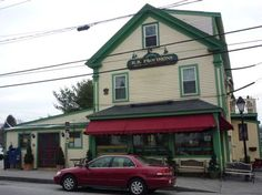 H.B Provisions, Kennebunkport, Maine, a classic general store that includes a fabulous deli. I had a crab melt with bacon and maple that was out of this world! http://www.visitingnewengland.com/HBProvisions-Kennebunkport-ME.html