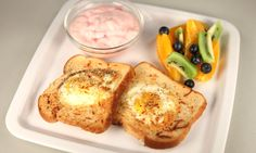 Eggs and Toast in the NuWave Oven! YUM!!!