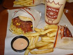 Oh Crown Burger how I miss you!