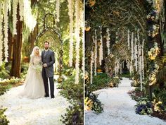 enchanted forest style wedding | Real Wedding Inspiration - Enchanted Forest | Wedding Guide Asia ...