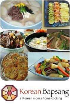 Korean Bapsang - Korean Food Recipes! http://www.koreanbapsang.com/