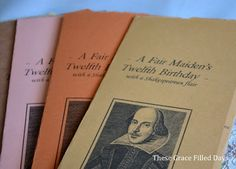 our take on a Shakespearean birthday party