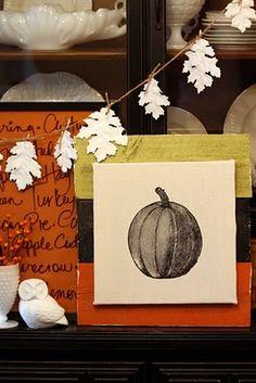 Sweet Something Designs: Leaf Garland