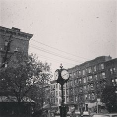 First snow in NYC