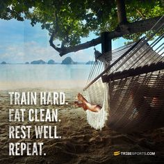 Train hard, eat clean, rest well. Repeat #tribesports #jointhetribe #challengeyourself #fitness #motivation #fitspo #inspiration #quote #body #improvement