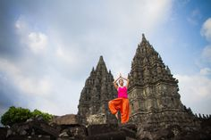 Temples of Cambodia. Perfect place for *Goddess Yoga* with Natalie (click image)!  #YogaDownload #TakeYogaAnywhere