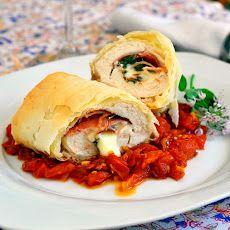 Phyllo Chicken Prosciutto Margherita