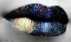 Make-Up Artist Creates Beautifully Intricate, Fantastical Lip Art - DesignTAXI.com