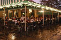 Cafe du Monde, New Orleans Lousiana beignet, place