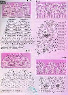 padrões de crochet para circuitos