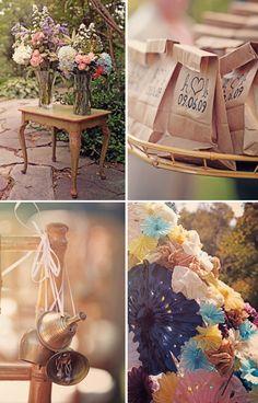 Casamento vintage campestre | Casamenteiras