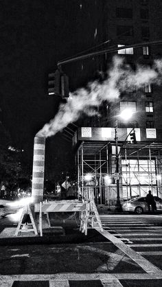 NYC #nyc #blackandwhite #art #love #ny #photo #photography #city #steam #uws