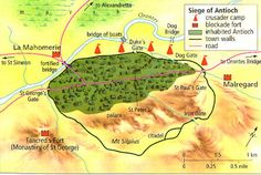 Adhemar of Le Puy | Crusaders defeat two Turkish relief armies for Antioch at Harenc ...