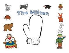 This mitten mini packet includes activities to go along with Jan Brett's The Mitten