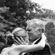 everyone wants the picture of when the groom first see the bride.  But what about when the dad first sees his daughter??