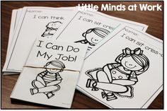 I can do my job easy reader and color sheets!