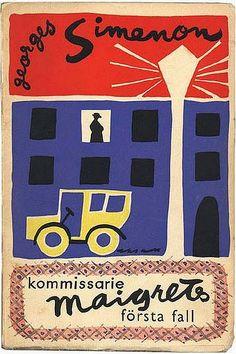 """kommissarie maigrets första fall"" georges simenon 1952"