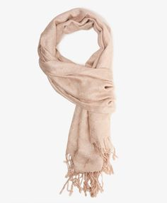 F21 Shimmering pattern scarf, champagne $12.80