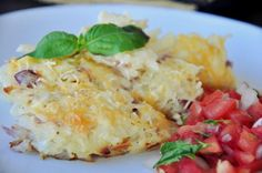 Cracker Barrel's Hashbrowns Casserole - Copycat. I use cream of onion soup instead of cream of chicken.