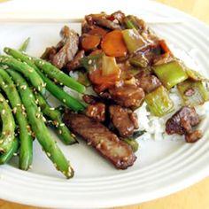 Mongolian Beef I