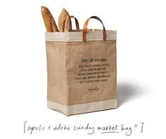 Apolis + Aloha Sunday Market Bag