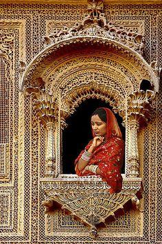 {architecture} Jaisalmer, India