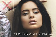You're Doing Your Brows Wrong: 7 Expert Tips For Perfect Brows - Rule number one: don't over-pluck.