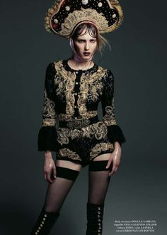 kokoshnik.  Couture Millinery Atelier.: Italian Flair. September 2012.