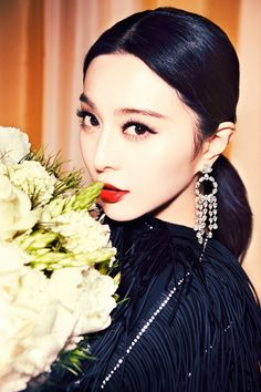 #makeup | Fan Bingbing by Ellen Von Unwerth