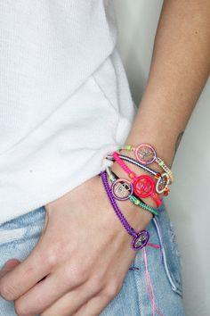 dream catcher friendship bracelets by mylittlefisheyeshop on Etsy, $6.00