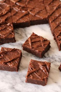 Flourless Chocolate and Peanut Butter Fudgy Brownies- look delicious and perfect for a gluten free diet!