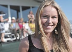 Olympoic Skier Lindsey Vonn 135th Preakness