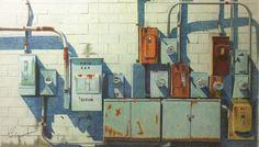 Michael Paolercio. Colored pencil.