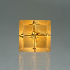 Citrine 9.77ct. Hopscotch™ cut. I want something with this cut too!
