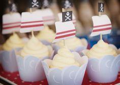 Pirate cupcakes: via amy atlas