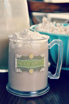 Hello Paper Moon: One Pint of Butterbeer Please