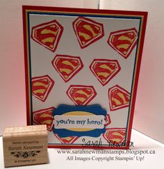 Stampin' Up!, Undefined, Make Your Own Stamp, Superman, Superhero