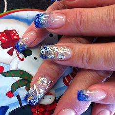 @dexterdos photo: Dexterdo#Nailery#nails art#wedding#bridal#Hawaii#3D#diamond#handpainted#floral designs##crackle#shatter#rhinestones#Japanese art#holidays