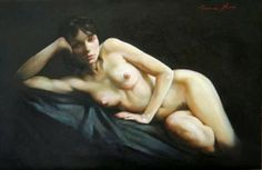 Nude Art - Painter Francesca Strino