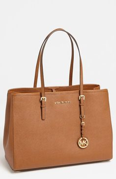 MICHAEL Michael Kors 'Jet Set - Large' Travel Tote | Nordstrom