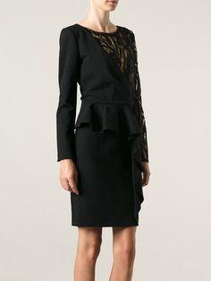 Emilio Pucci Layered Floral Lace Dress - Spinnaker 101 - Farfetch.com