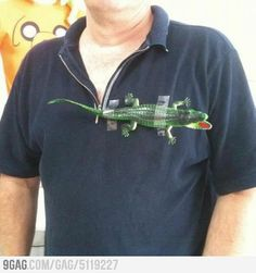 Lacoste! Going to make this as a white elephant gift :-) lmao